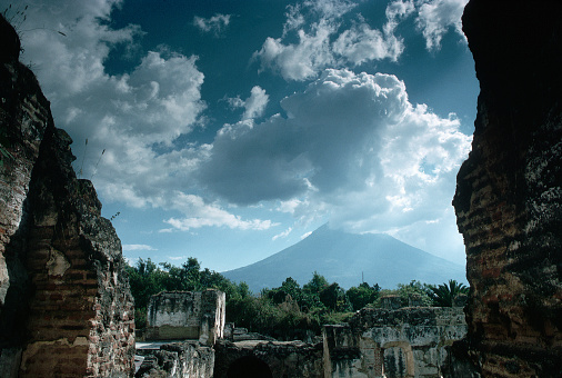 アグア火山「Agua Volcano, Antigua」:スマホ壁紙(12)
