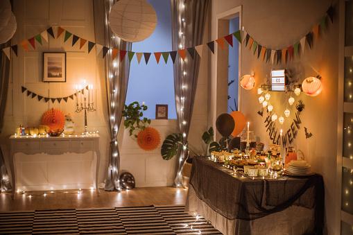 Garland - Decoration「Halloween food table」:スマホ壁紙(18)
