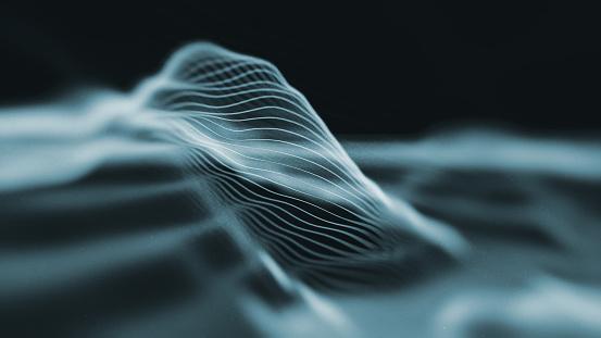 Internet「Abstract Hologram Landscape background」:スマホ壁紙(19)