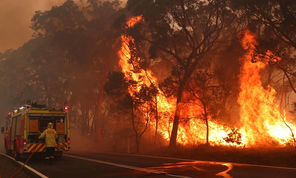 Sydney「Gospers Mountain Fire At Emergency Level As Heatwave Continues」:写真・画像(9)[壁紙.com]