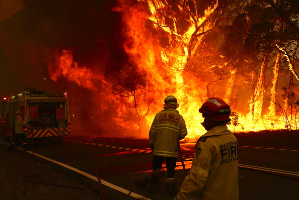 New South Wales「Gospers Mountain Fire At Emergency Level As Heatwave Continues」:写真・画像(3)[壁紙.com]