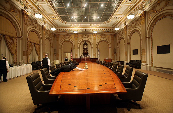 Corporate Business「New York Stock Exchange Debuts Renovated Trading Floor」:写真・画像(9)[壁紙.com]