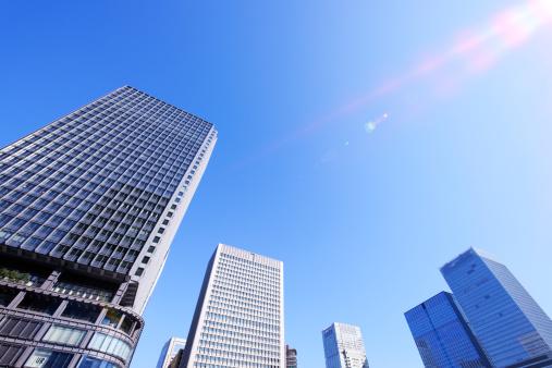 Tokyo - Japan「Marunouchi Building and Skyscrapers」:スマホ壁紙(15)