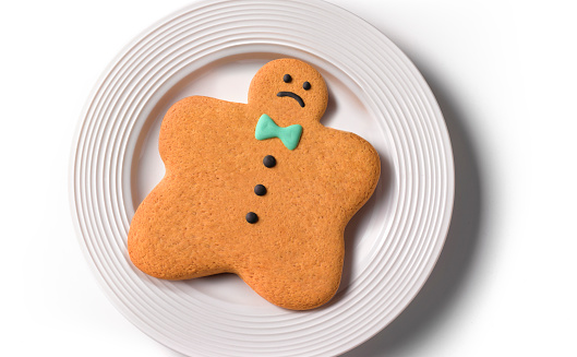 Gingerbread Cookie「Obese Gingerbread man/woman」:スマホ壁紙(2)