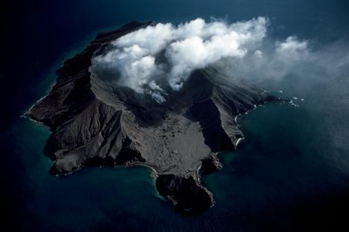 Volcano「White Island volcano, New Zealand」:スマホ壁紙(7)