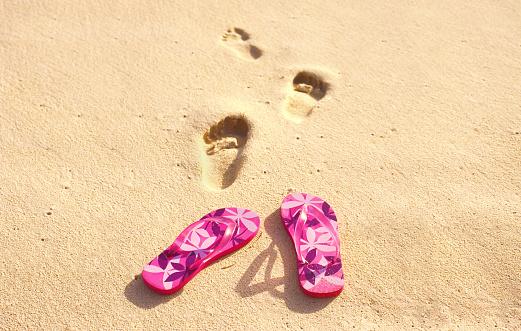 Flip-Flop「FLIP FLOPS ON BEACH」:スマホ壁紙(8)