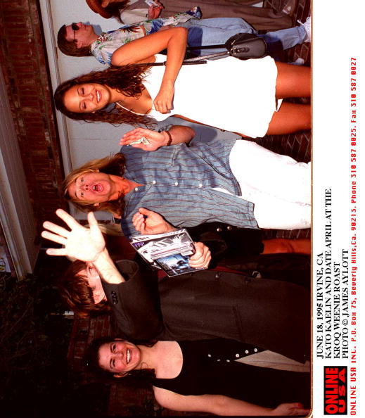 Roast Dinner「JUNE 18, 1995 IRVINE, CA KATO KAELIN AND DATE AT THE KROC WEENIE ROAST」:写真・画像(17)[壁紙.com]