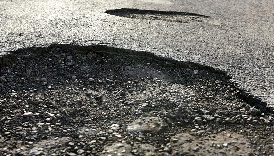 Inconvenience「ROAD WITH DANGEROUS POTHOLES」:スマホ壁紙(17)