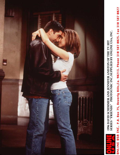 """Television Show「1996 DAVID SCHWIMMER AND JENNIFER ANISTON OF THE TV HIT SERIES """"FRIENDS""""」:写真・画像(15)[壁紙.com]"""