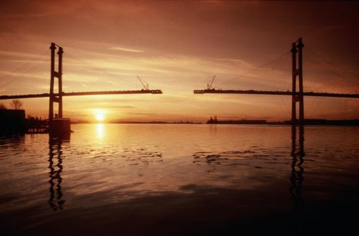 British Columbia「BRIDGE CONSTRUCTION IN VANCOUVER, CANADA」:スマホ壁紙(1)