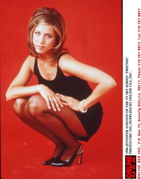 "1990-1999「1996 JENNIFER ANISTON OF THE TV HIT SERIES ""FRIENDS""」:写真・画像(10)[壁紙.com]"