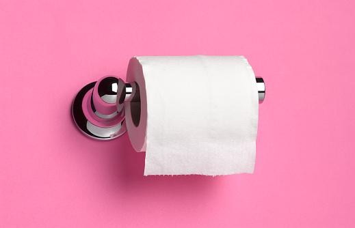 Toilet Paper「TOILET ROLL HOLDER ON PINK」:スマホ壁紙(13)