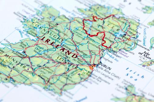 Geographical Border「IRELAND」:スマホ壁紙(3)