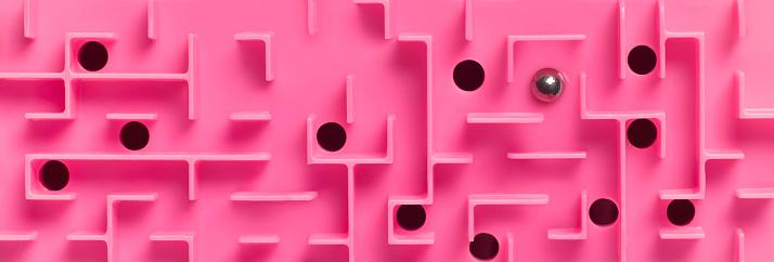 Skill「PINK LABYRINTH MAZE PUZZLE」:スマホ壁紙(16)