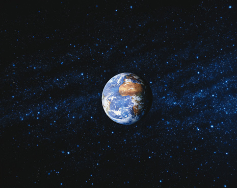 Digital Composite「WORLD GLOBE AND STARRY SKY」:スマホ壁紙(15)