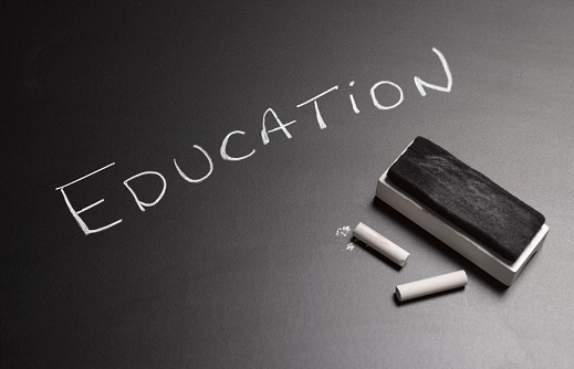 Board Eraser「BLACKBOARD IN SCHOOL SAYING EDUCATION」:スマホ壁紙(13)
