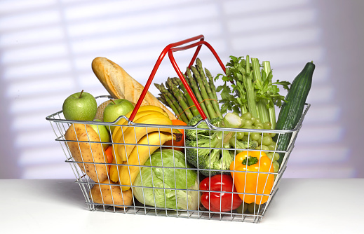 Broccoli「5 A DAY WEEKLY SUPERMARKET SHOPPING BASKET」:スマホ壁紙(9)