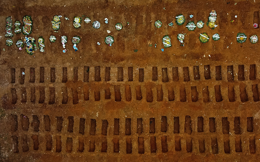 Infectious Disease「Aerial shot of cemetery created for victims of Covid-19」:スマホ壁紙(7)