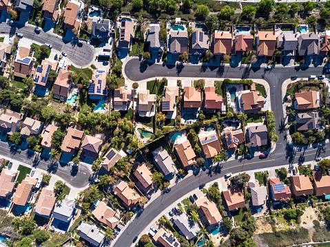 Southern California「Aerial Shot of Suburban Development」:スマホ壁紙(12)