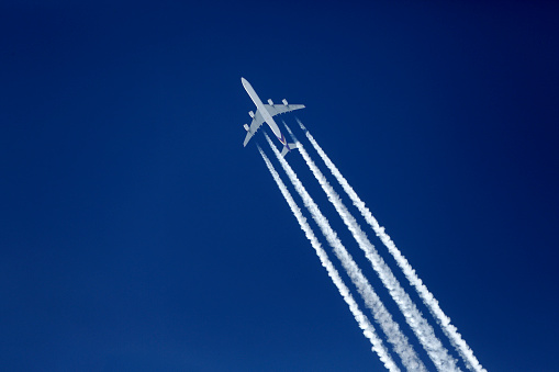 Commercial Airplane「Airliner, Airbus A340」:スマホ壁紙(11)