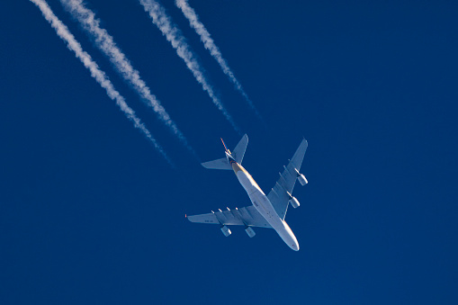Commercial Airplane「Airliner, Airbus A380」:スマホ壁紙(7)