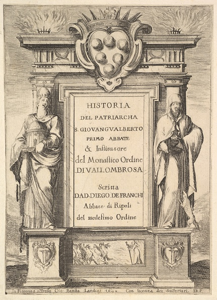 Patriotism「Frontispiece: A Monument Decorated With The Medici Coat Of Arms At Top In Center」:写真・画像(0)[壁紙.com]