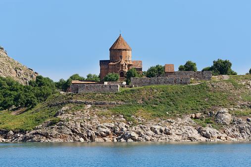 Akdamar Island「Turkey, Van Province, Akdamar Island, Van Lake, Akdamar Island, Church of the Holy Cross」:スマホ壁紙(5)
