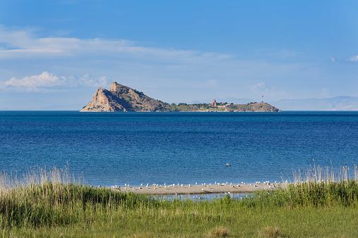 Akdamar Island「Turkey, Van Province, Akdamar Island, Van Lake, Akdamar Island, Church of the Holy Cross」:スマホ壁紙(2)