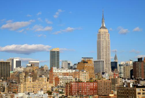 Eyesight「Manhattan City Empire State Building」:スマホ壁紙(14)