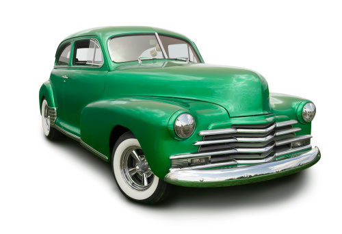 Hot Rod Car「Green Hot Rod」:スマホ壁紙(2)