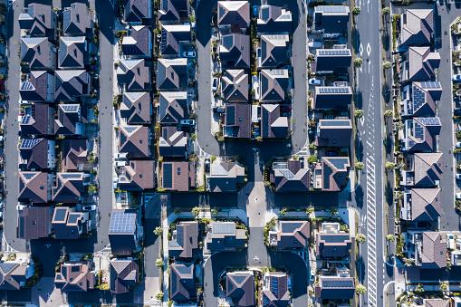 Rooftop「Bright residential area under sunlight」:スマホ壁紙(11)