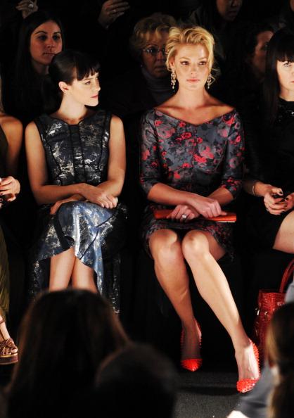 Katherine Heigl「J. Mendel - Front Row - Fall 2013 Mercedes-Benz Fashion Week」:写真・画像(19)[壁紙.com]