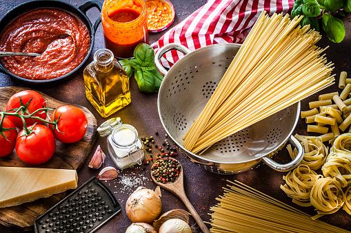 Tomato Sauce「Ingredients for cooking Italian pasta」:スマホ壁紙(18)