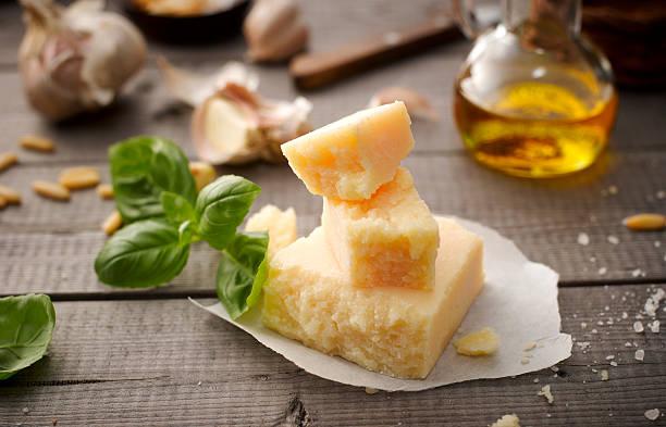 Ingredients of basil pesto:スマホ壁紙(壁紙.com)