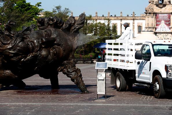 Zapopan「Coronavirus Outbreak In Mexico」:写真・画像(6)[壁紙.com]
