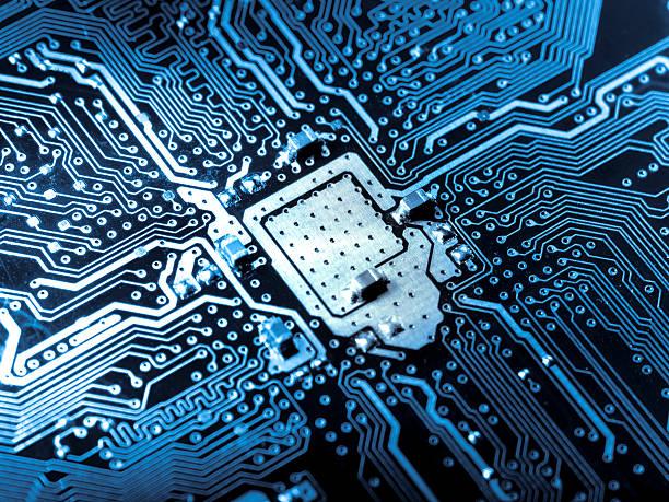Computer circuit board:スマホ壁紙(壁紙.com)