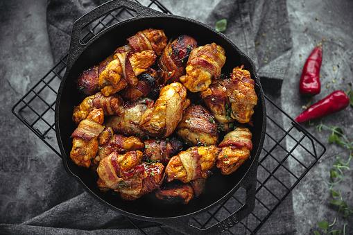 Chicken Wing「Diverse Keto Dishes」:スマホ壁紙(12)