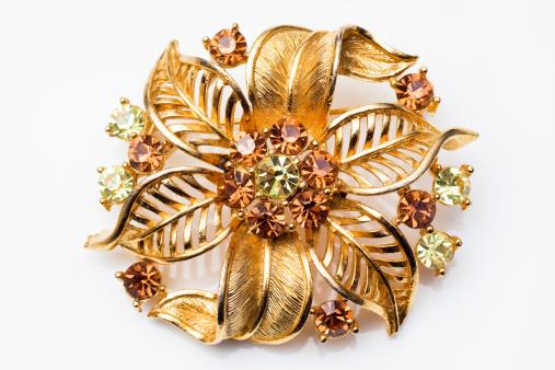 Costume Jewelry「Vintage Brooch」:スマホ壁紙(4)
