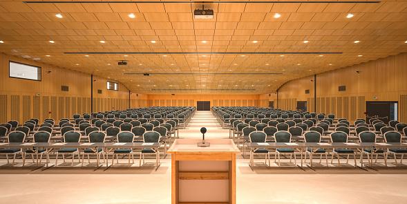 Convention Center「Conference hall」:スマホ壁紙(3)