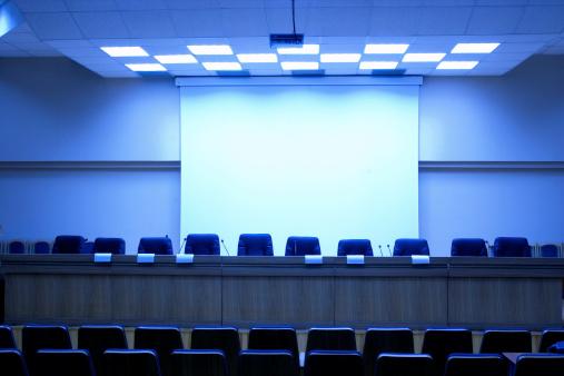 Presentation - Speech「Conference hall - 14」:スマホ壁紙(15)