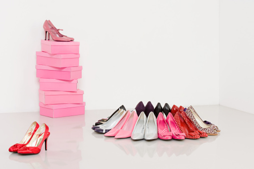 Shoe「Collection of high heeled shoes」:スマホ壁紙(16)