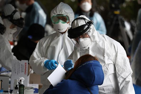 Illness「Concern In South Korea As The Covid-19 Spreads」:写真・画像(11)[壁紙.com]