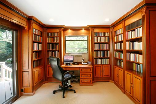 Drawer「Office space in residence」:スマホ壁紙(1)