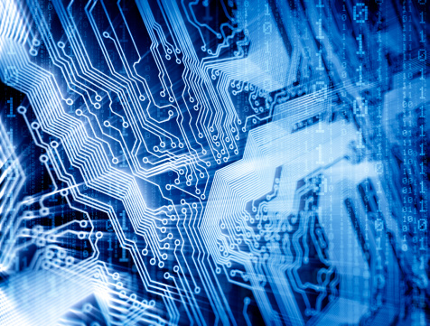 Computer Chip「Circuit concept」:スマホ壁紙(19)
