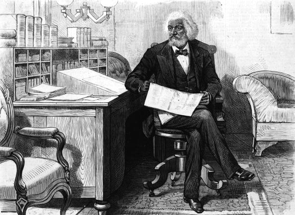 Note Pad「Abolitionist Frederick Douglass Edits Newspaper」:写真・画像(12)[壁紙.com]