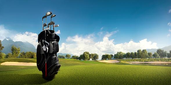 Volcanic Landscape「Golf: Golf course」:スマホ壁紙(19)