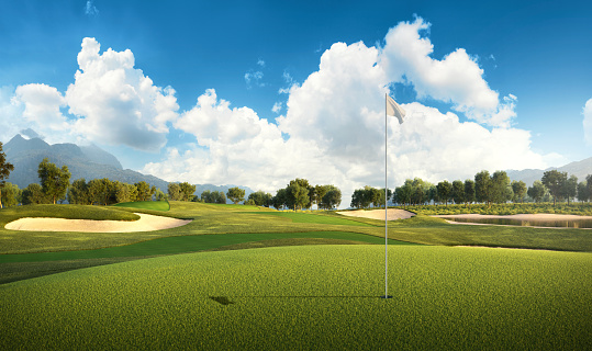 Scotland「Golf: Golf course」:スマホ壁紙(3)