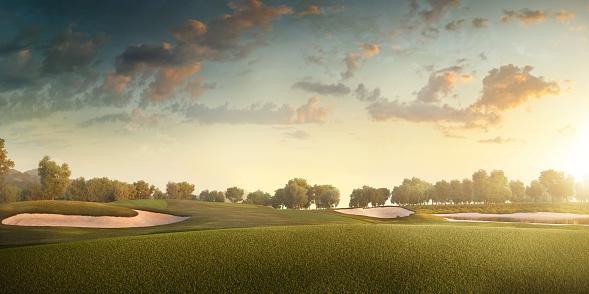 Weekend Activities「Golf: Golf course」:スマホ壁紙(16)