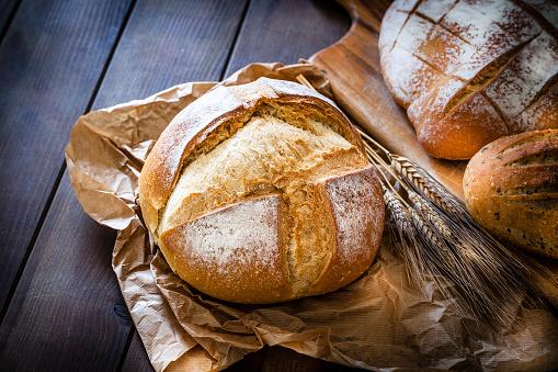 Bun - Bread「Loaf of bread still life」:スマホ壁紙(9)