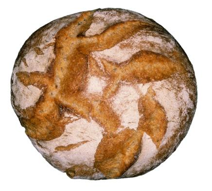 Bun - Bread「Loaf of bread, close-up」:スマホ壁紙(5)